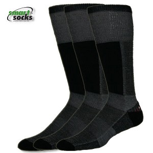Smart Skiing Ski Sock in Black Bundle of 3